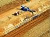 Back filling pipeline